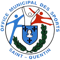 logo office municipal des sports de saint quentin